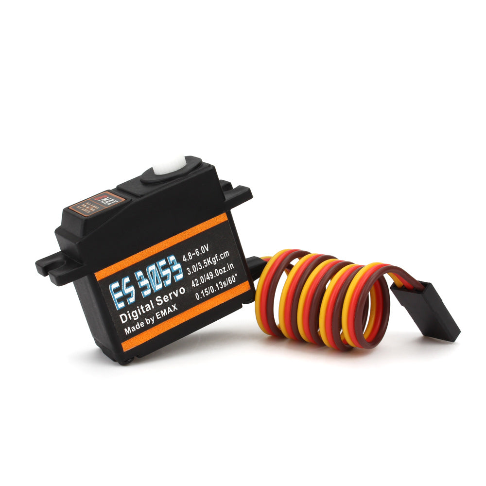 Emax ES3053 17g 3.5kg 0.13sec 23T Plastic Gear Digital Servo For RC Airplane ES3153 upgrade