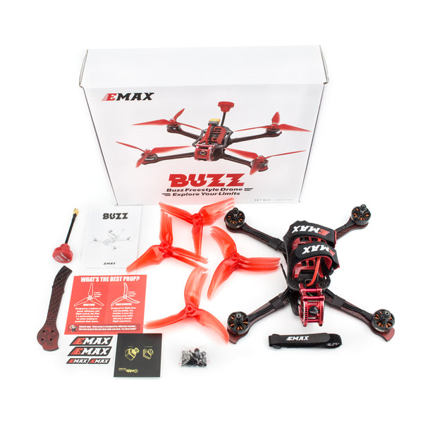 Emax Buzz 245mm-5-inch  F4 1700KV 5-6S - 2400KV 4S Freestyle FPV Racing Drone PNP(Without Receiver)