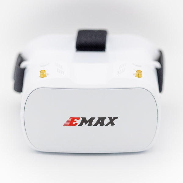 Emax Tinyhawk 5.8G 48CH Diversity FPV Goggles 4.3 Inches 480*320 Video Headset With Dual Antennas 4.2V 1800mAh Battery For RC Drone