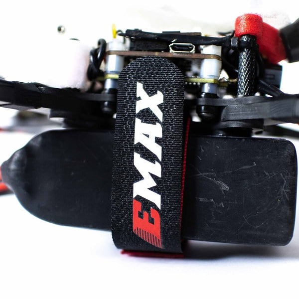 2 PCS EMAX LiPo Battery Strap with Rubber 260mm for RC FPV Racing Drone Fixed