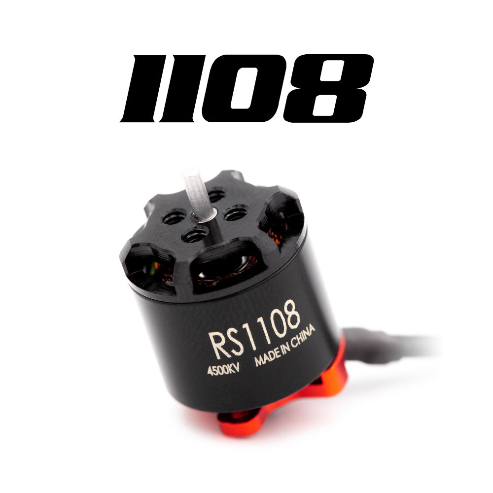 EMAX RS1108  4500KV-5200KV-6000KV  Brushless Motor For Micro FPV Racing Quad