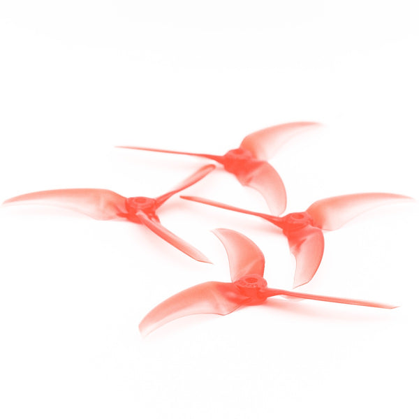 2 Pairs Emax AVAN Scimitar 5 Inch 5x2.6x3 3-blade RC Drone FPV Freestyle Propeller Red suitable for EMAX Buzz Drone