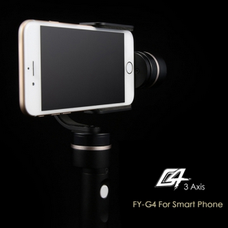 Feiyu Tech FY-G4 3 Axis Handheld Steady Gimbal For Smart Phone