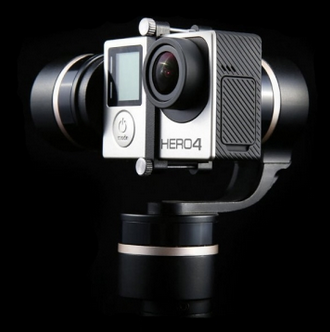 Feiyu Tech FY-G4 3 Axis Handheld Steady Camera Gimbal For Gopro 3 4