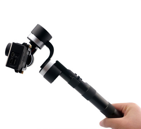 Z-ONE 3 Axis Handle Handheld Gopro Stabilizering Gimbal Camera Stabilizer for Gopro 3+ Photography