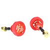EMAX Pagoda 2 Antenna 5.8G 80mm 8cm RHCP Red Omnidirectional Omni FPV Flat Panel SMA(2pcs)
