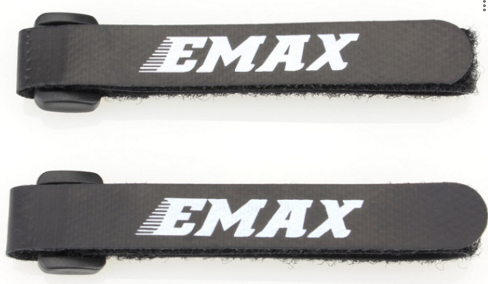 2pcs EMAX LiPo Battery Strap with Buckle 250mm for RC FPV Racing Drone Fixed 12x250MM