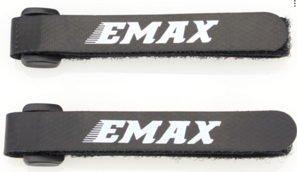 2pcs EMAX LiPo Battery Strap with Buckle 280mm for RC FPV Racing Drone Fixed 20x280MM