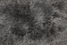 "Load image into Gallery viewer, 24"" x 72"" x 2"" Gray, Double Sheepskin - Area Rug"