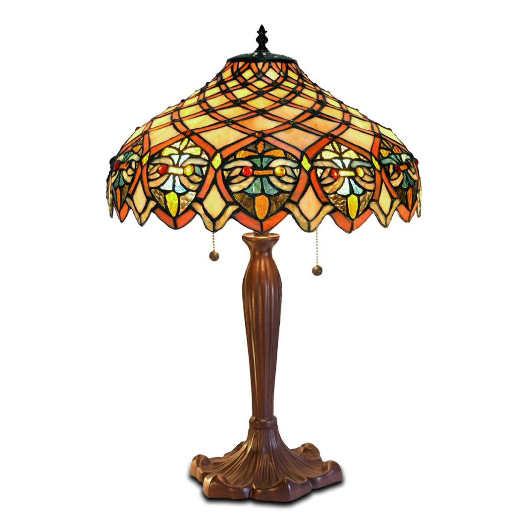Tiffany-style Arielle Table Lamp