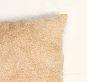 "12"" x 20"" x 5"" Tan, Cowhide - Pillow 2-Pack"