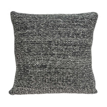 "Load image into Gallery viewer, 20"" x 7"" x 20"" Clean Transitional Gray Pillow Cover With Down Insert"