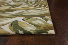 Load image into Gallery viewer, 3' x 5' Wool Green Area Rug