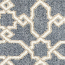 Load image into Gallery viewer, 5' x 7'  Microfiber Slate Blue Area Rug