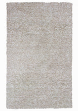 "Load image into Gallery viewer, 27"" X 45"" Polyester Ivory  Heather Area Rug"
