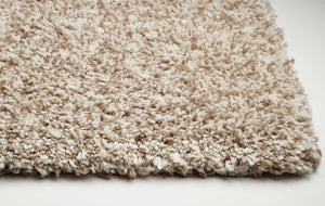 "27"" X 45"" Polyester Ivory  Heather Area Rug"