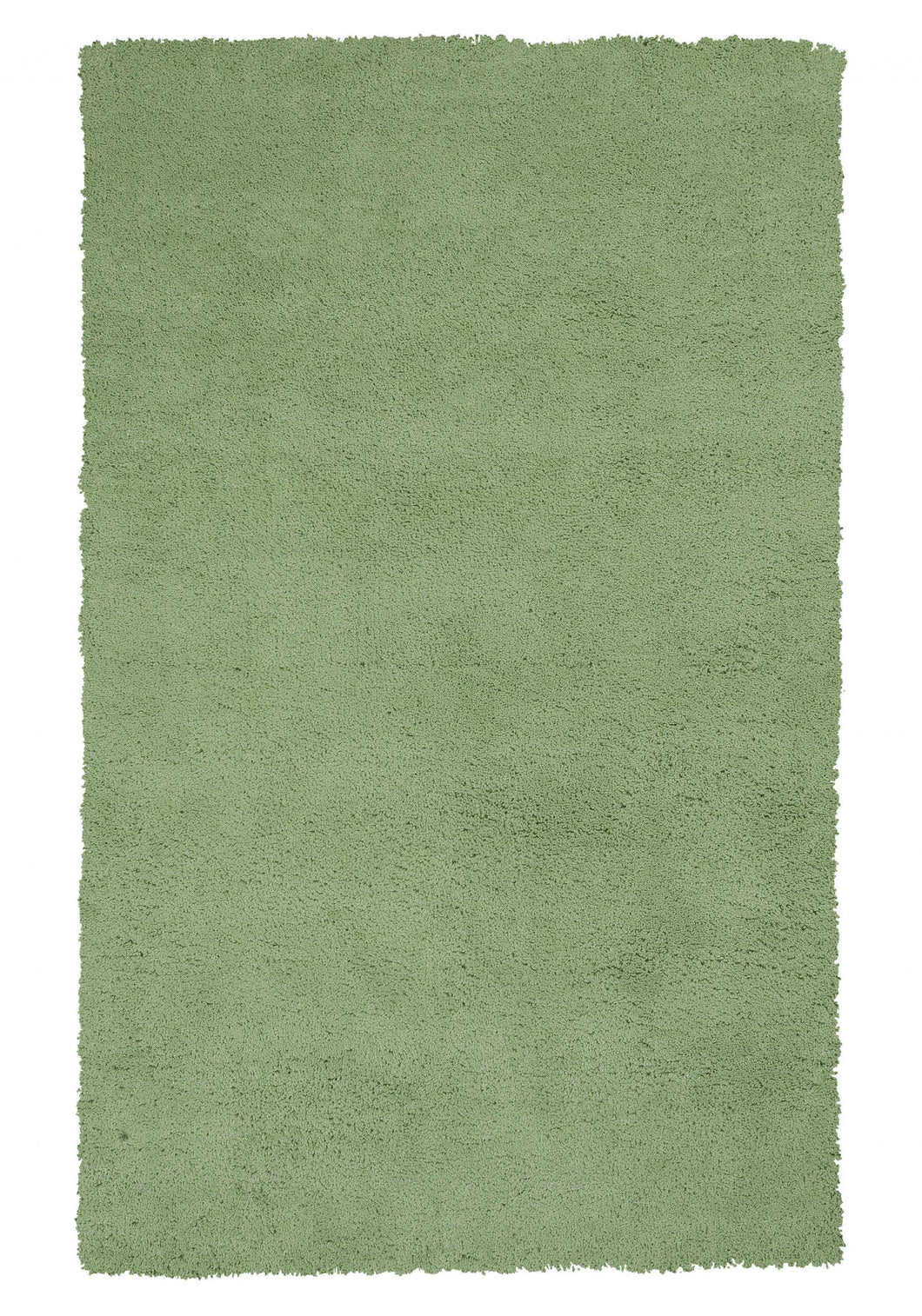3' x 5' Polyester Spearmint Green Area Rug