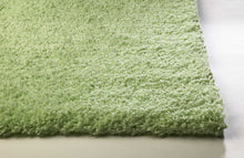 Load image into Gallery viewer, 3' x 5' Polyester Spearmint Green Area Rug