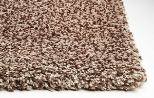 3' x 5' Polyester Beige Heather Area Rug