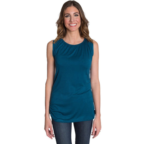 Trendy Tank Nursing Top - Teal