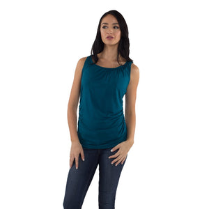 Maternity/Nursing Tank Top in Teal by Udderly Hot Mama