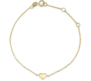 """Heart of Gold"" bracelet"