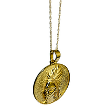 "Load image into Gallery viewer, ""Resilient"" headwrap pendant"