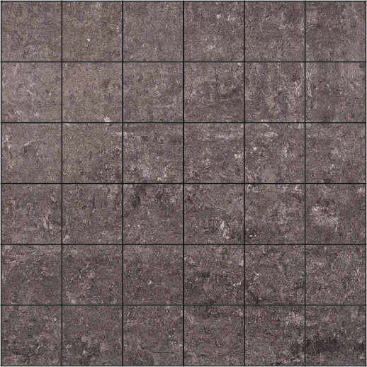 Cosmo D-Grey Mosaic 5x5 Polished