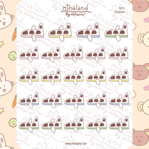 mihaland - Airplanes Planner Stickers (D013)