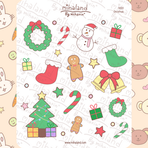mihaland - Christmas Planner Stickers (D020)