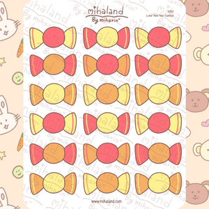 mihaland - Lunar New Year Candies Planner Stickers (D050)