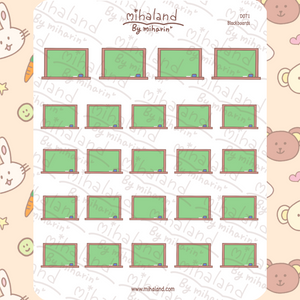 mihaland - Blackboards Planner Stickers (D071)