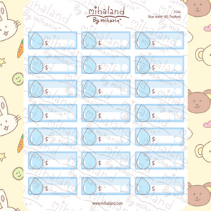 Blue Water Trackers Planner Stickers (F044)