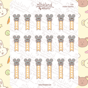 Cheddar Checklists Planner Stickers (F194)