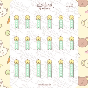 Tori Checklists Planner Stickers (F197)