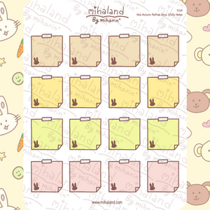 Mid-Autumn Festival Miyu Sticky Notes Planner Stickers (F249)