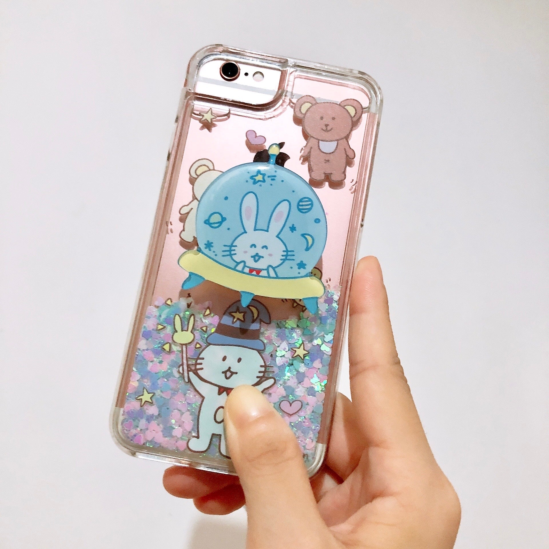 Miyu in Spaceship Pop Socket (PS001)