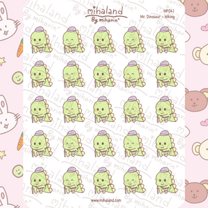 mihaland - Mr. Dinosaur - Hiking Planner Stickers (MF041)