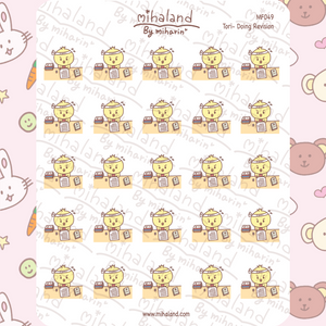 mihaland - Tori - Doing Revision Planner Stickers (MF049)