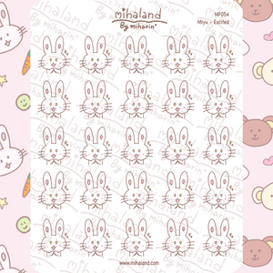 Miyu - Excited Planner Stickers (MF054)