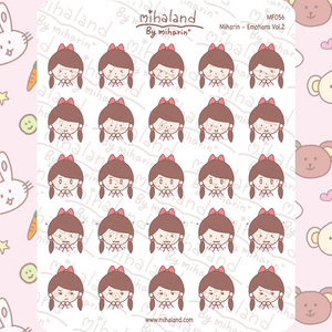 Miharin - Emotions Vol.2 Planner Stickers (MF056)
