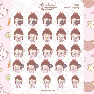 Miharin - Fangirling Planner Stickers (MF060)
