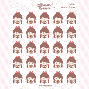 Miharin - Cookies Planner Stickers (MF091)
