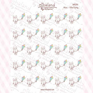 Miyu - Kite Flying Planner Stickers (MF096)