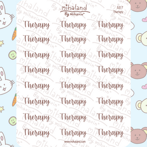 Therapy Script Planner Stickers (S217)
