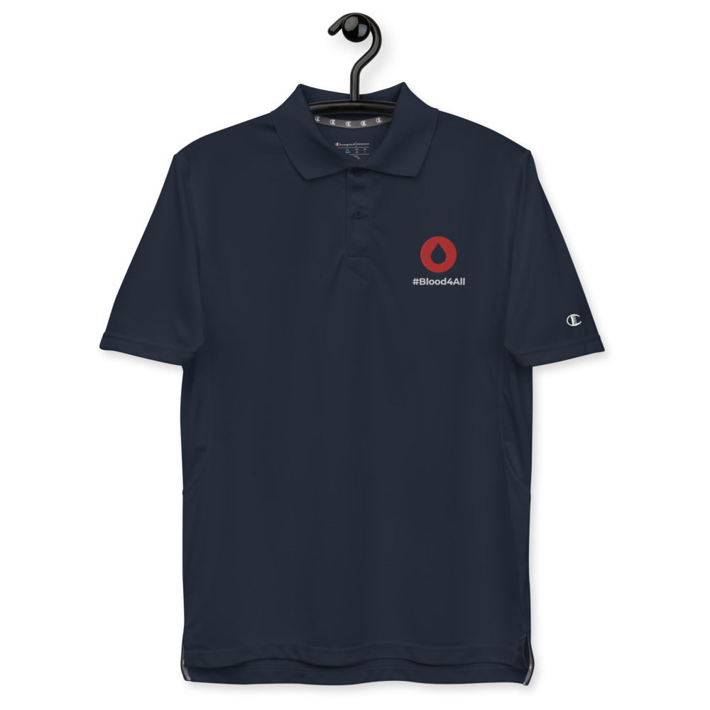 #Blood4All Men's Champion Polo