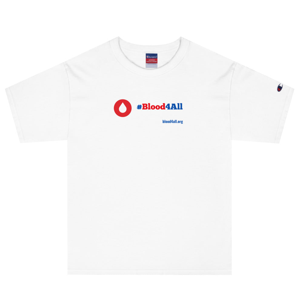 #Blood4All Men's Champion T-Shirt