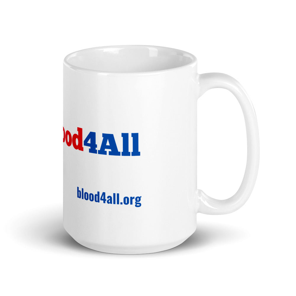 #Blood4All Big Mug