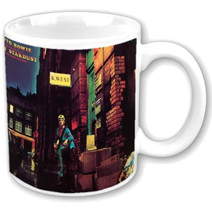 David Bowie 'Ziggy Stardust' 11 oz mug