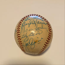 Load image into Gallery viewer, Hall of Famers Autographed Baseball JSA COA
